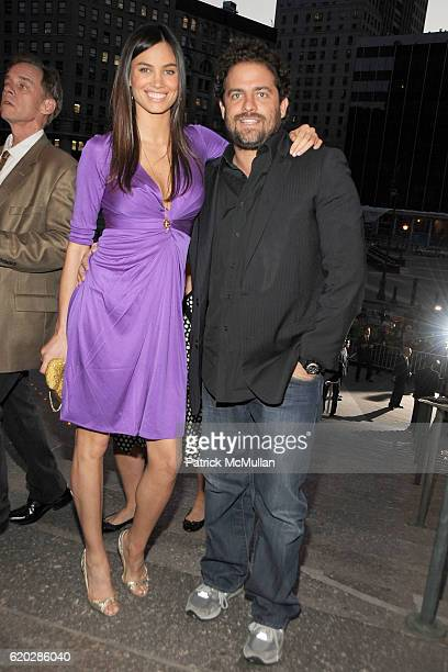 Alina Puscau and Brett Ratner attend VANITY FAIR Tribeca Film Festival Party hosted by GRAYDON CARTER ROBERT DE NIRO and RONALD PERELMAN at The State...