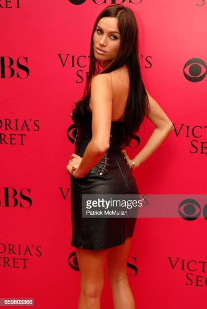 Alina Puscau attends 2009 VICTORIA'S SECRET Fashion Show Pink Carpet Arrivals At The Lexington Armory on November 19 2009 in New York City