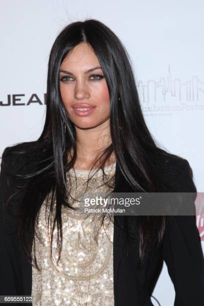 Alina Puscau attends New York Premiere of NEW YORK I LOVE YOU at The Ziegfeld Theatre on October 14 2009 in New York City