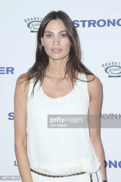 Alina Puscau attends the New York premiere of 'Stronger' at Walter Reade Theater on September 14 2017 in New York City