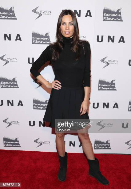 Alina Puscau attends the New York VIP Screening of 'UNA' at Landmark Sunshine Cinema on October 4 2017 in New York City