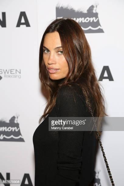 Alina Puscau attends the New York VIP Screening of 'UNA' at Landmark Sunshine Cinema on October 4 2017 in New York City