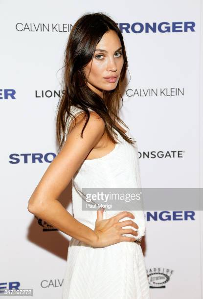 Alina Puscau attends the 'Stronger' New York Premiere at Walter Reade Theater on September 14 2017 in New York City