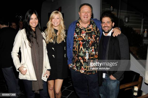 Alina Puscau Stephanie Guilford Jean Pigozzi and Brett Ratner attend THE CINEMA SOCIETY TOMMY HILFIGER host the after party for 'MANAGEMENT' at...