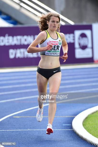Alina Reh during the European Athletics Team Championships Super League at Grand Stade Lille Metropole on June 25 2017 in Lille France