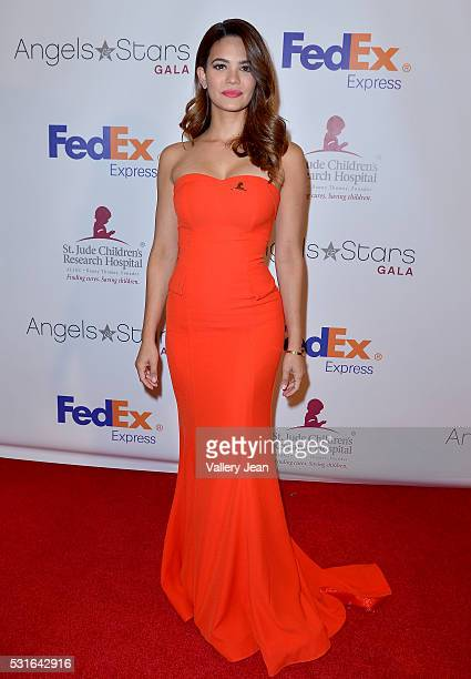 Alina Robert attends the FedEx / St Jude Angels and Stars Gala at Hotel InterContinental on May 14 2016 in Miami Florida