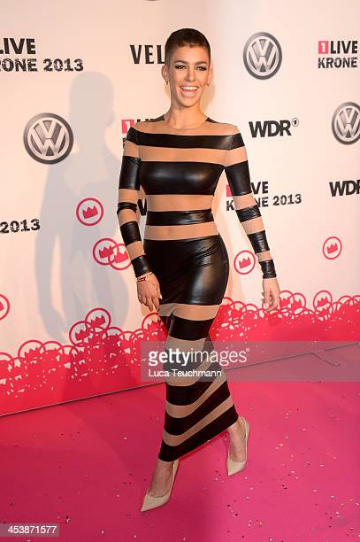 Alina Sueggeler attends the '1Live Krone' at Jahrhunderthalle on December 5 2013 in Bochum Germany