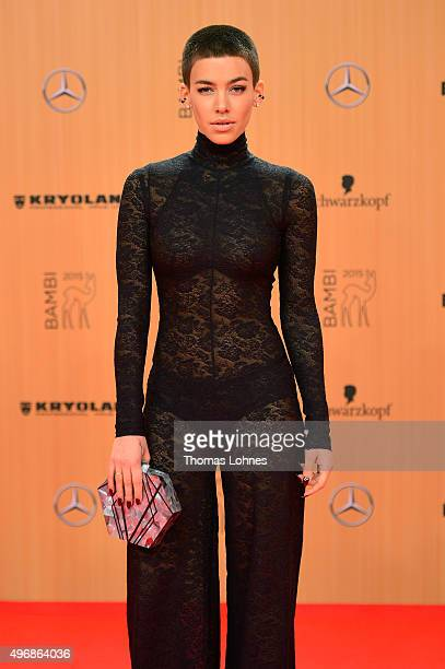 Alina Sueggeler attends the Bambi Awards 2015 at Stage Theater on November 12 2015 in Berlin Germany
