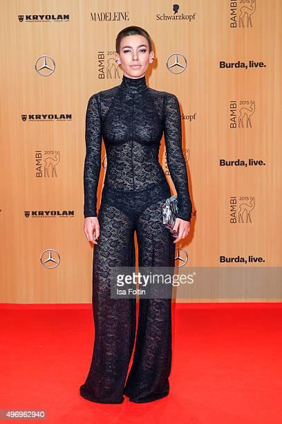 Alina Sueggeler attends the Kryolan At Bambi Awards 2015 Red Carpet Arrivals on November 12 2015 in Berlin Germany