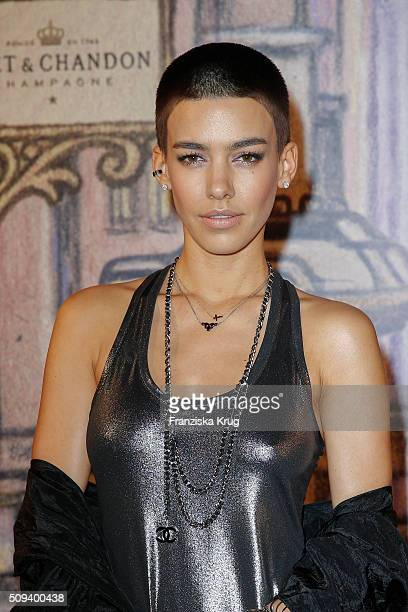 Alina Sueggeler attends the Moet Chandon Grand Scores 2016 at Hotel De Rome on February 6 2016 in Berlin Germany