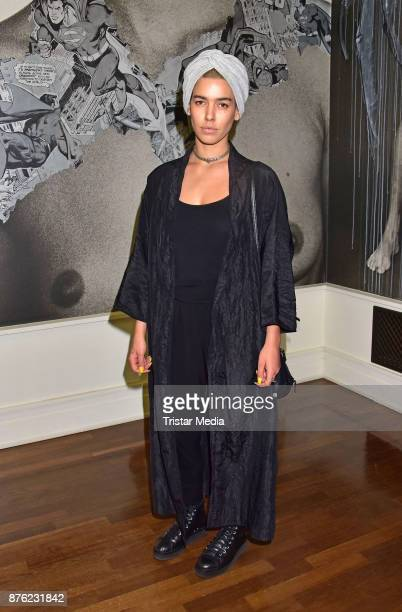 Alina Sueggeler attends the 'Testino's Undressed meets Street Art' Closing Event on November 18 2017 in Berlin Germany