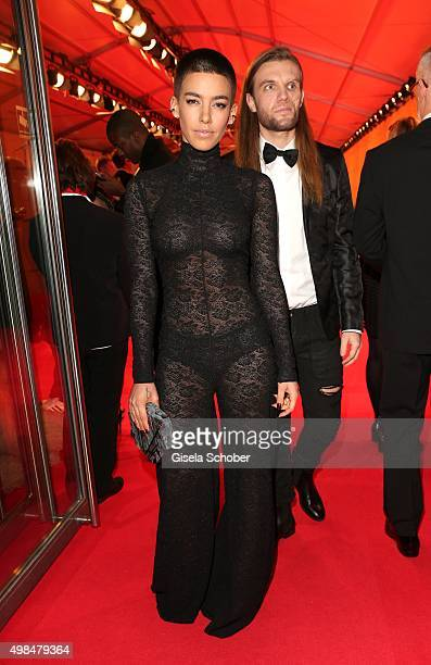 Alina Sueggeler during the Bambi Awards 2015 at Stage Theater on November 12 2015 in Berlin Germany