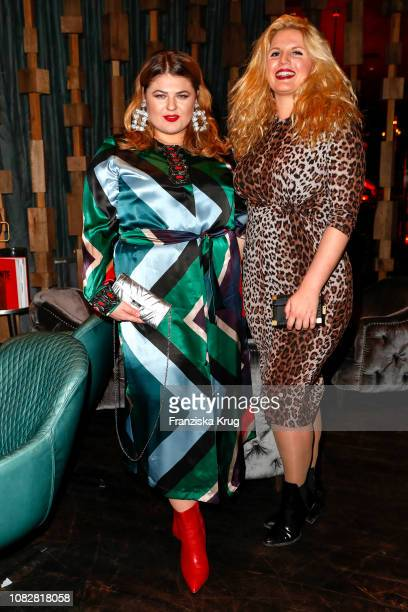 Alina Wichmann and Stella Sieger during the Bunte New Faces Night at Layla on January 14 2019 in Berlin Germany