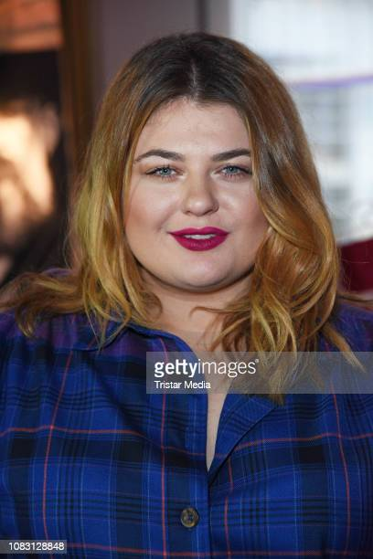 Alina Wichmann attends the Beauty2Go Lounge during Mercedes Benz Fashion Week at The Grand on January 15 2019 in Berlin Germany
