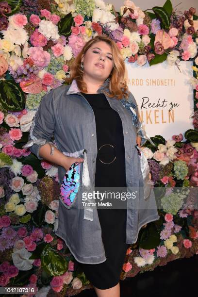Alina Wichmann attends the Riccardo Simonetti 'Mein Recht zu funkeln' book release party at Gorki Apartments on September 27 2018 in Berlin Germany