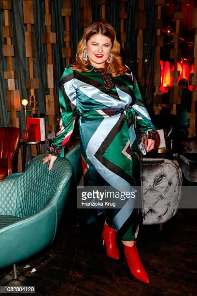 Alina Wichmann during the Bunte New Faces Night at Layla on January 14 2019 in Berlin Germany