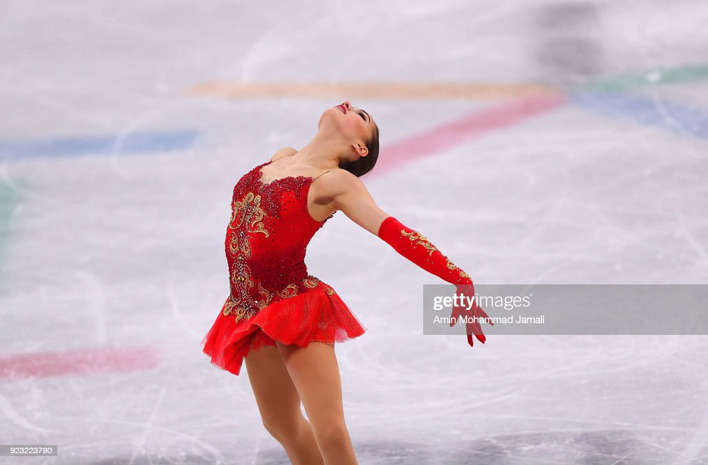 Alina Zagitova of Olympic Athlete from Russia competes during the Ladies Single Skating Free Skating on day fourteen of the PyeongChang 2018 Winter Olympic Games at Gangneung Ice Arena on February 23, 2018 in Gangneung, South Korea.