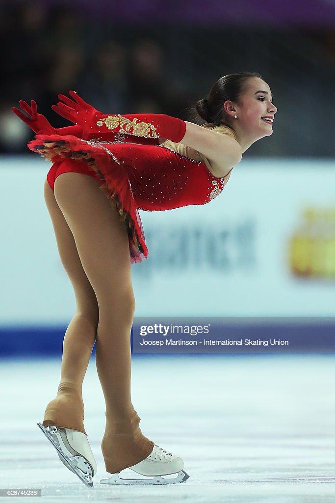 ISU Junior & Senior Grand Prix of Figure Skating Final - Marseille Day 2 : Nachrichtenfoto