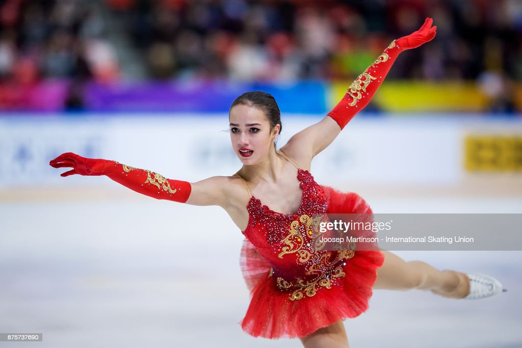 ISU Grand Prix of Figure Skating - Grenoble : Nachrichtenfoto