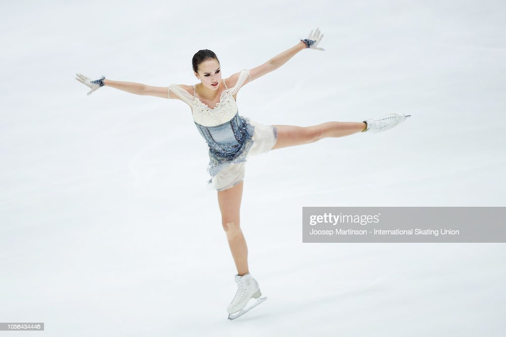 Алина Ильназовна Загитова-2 | Олимпийская чемпионка - Страница 2 Alina-zagitova-of-russia-competes-in-the-ladies-short-program-during-picture-id1056434446