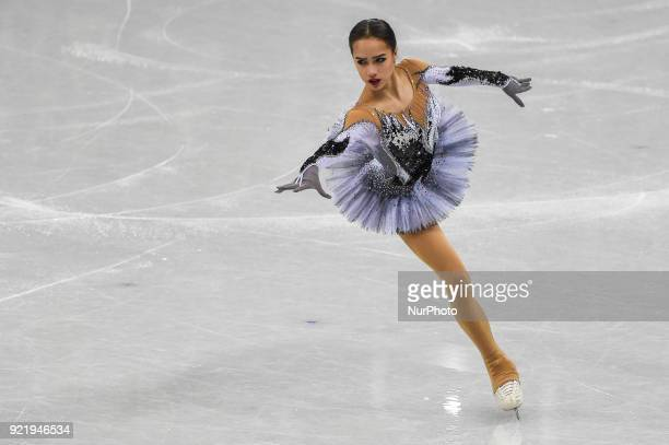 Alina Zagitova of Russia competing in free dance at Gangneung Ice Arena Gangneung South Korea on February 21 2018