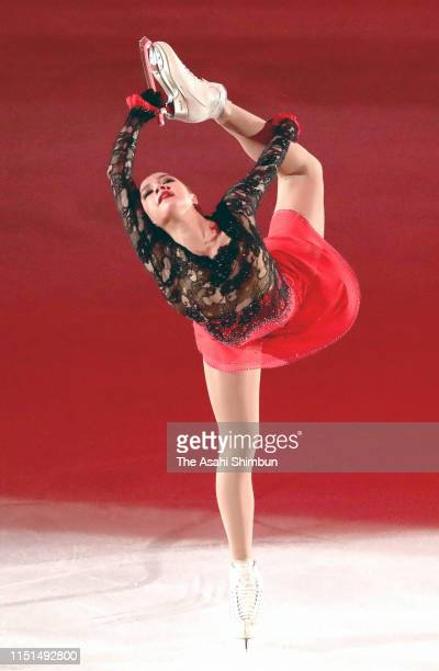 Alina Zagitova of Russia performs during the 'Fantasy On Ice' at Makuhari Messe on May 24 2019 in Chiba Japan