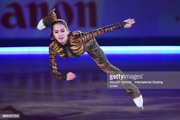 Alina Zagitova of Russia performs her routine in the Gala exhibition during the ISU Junior Senior Grand Prix of Figure Skating Final at Nippon Gaishi...