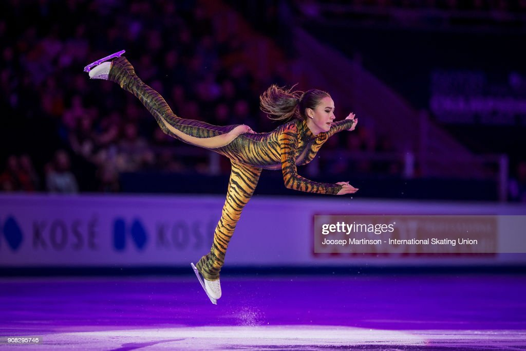 European Figure Skating Championships - Moscow : Nachrichtenfoto