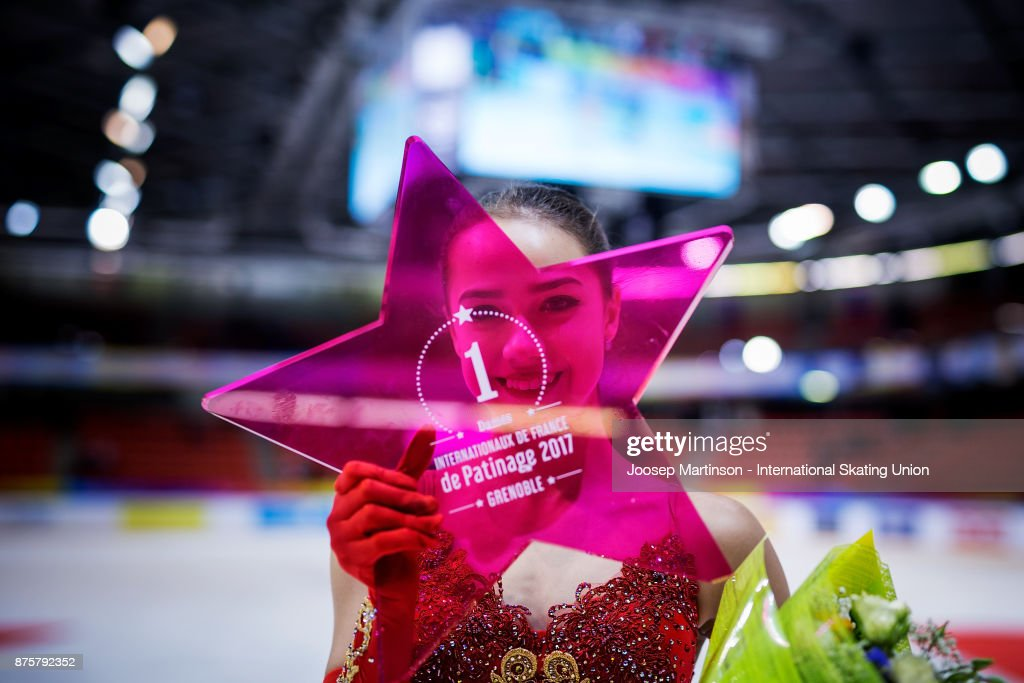 ISU Grand Prix of Figure Skating - Grenoble : News Photo