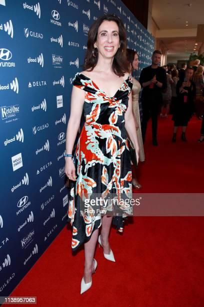 Aline Brosh McKenna attends the 30th Annual GLAAD Media Awards Los Angeles at The Beverly Hilton Hotel on March 28 2019 in Beverly Hills California