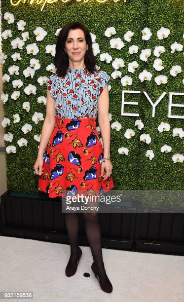 Aline Brosh McKenna attends the CBS Hosts The EYEspeak Summit at Pacific Design Center on March 14, 2018 in West Hollywood, California.