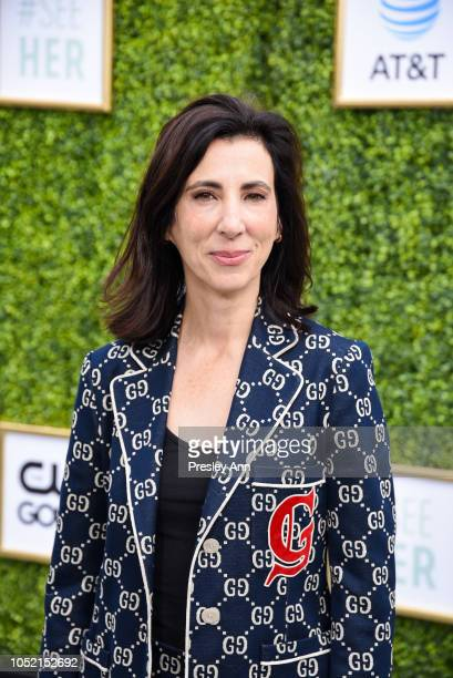 Aline Brosh McKenna attends The CW Network's Fall Launch Event - Arrivals at Warner Bros. Studios on October 14, 2018 in Burbank, California.