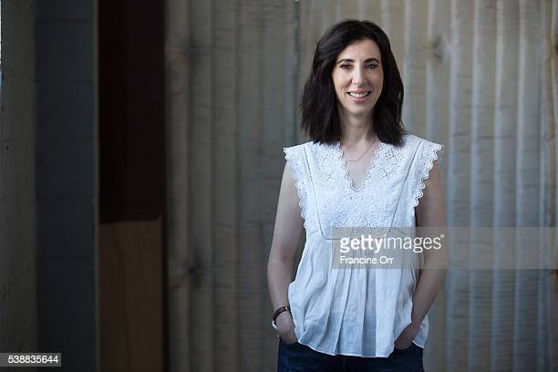Aline Brosh McKenna creator of 'Crazy Ex-Girlfriend' is photographed for Los Angeles Times on April 18, 2016 in Los Angeles, California. PUBLISHED...