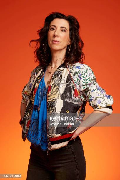 Aline Brosh McKenna from The CW Television Network's 'Crazy Ex-Girlfriend' poses for a portrait in the Getty Images Portrait Studio powered by Pizza...