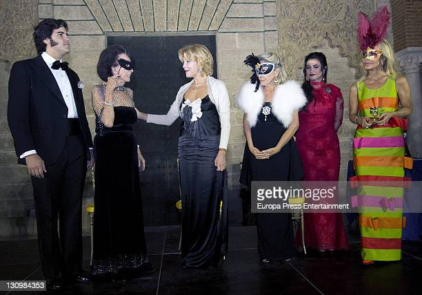 Aline Griffith Carmen Cevera Beatriz de Orleans and Carmen Lomana attend the Magazine Escaparate annual Awards at Reales Alcazares on October 28 2011...