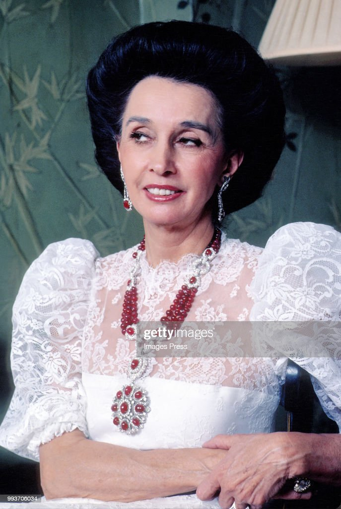Aline Griffith, Countess of Romanones... : News Photo