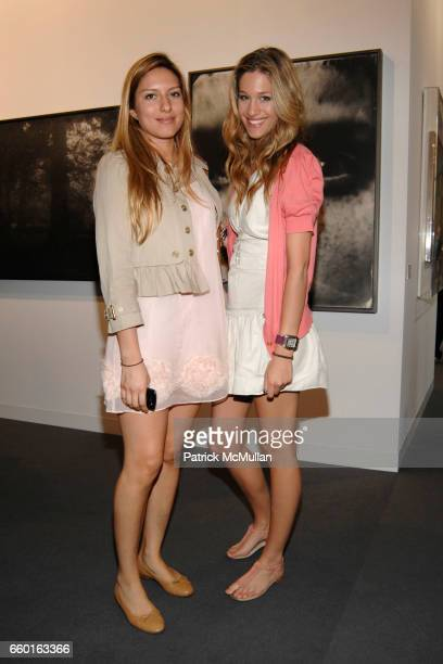Aline Marquard and Bianca Gubser attend ART 40 BASEL Opening Day with GALERIE GMURZYNSKA at Art Basel Hall 2 on June 9 2009 in Basel Switzerland