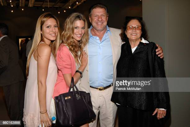 Aline Marquard Bianca Gubser Jurg Marquard and Rotraut attend ART 40 BASEL Opening Day with GALERIE GMURZYNSKA at Art Basel Hall 2 on June 9 2009 in...