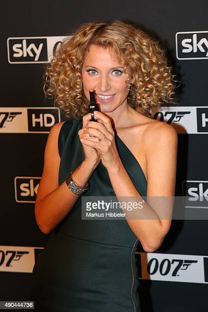 Aline von Drateln attends the SKY 007 HD event at Hotel Atlantic on September 28 2015 in Hamburg Germany
