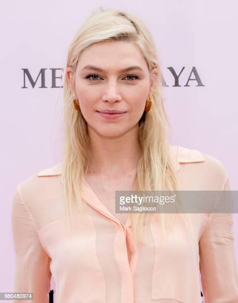 Aline Weber attends the Mery Playa Swimwear Launch on June 20 2018 in New York City