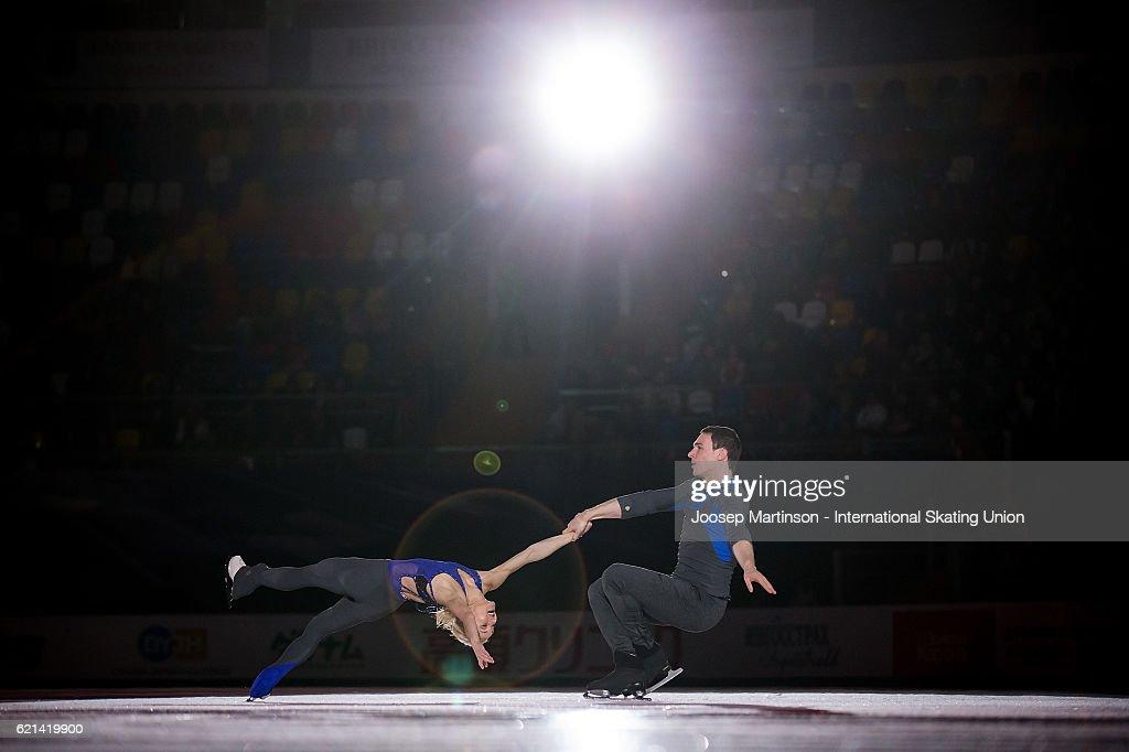 ISU Grand Prix of Figure Skating - Moscow Day 3