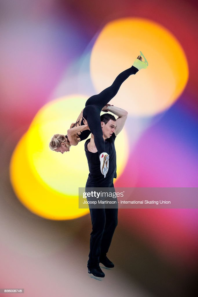 Aliona Savchenko and Bruno Massot of Germany perform in the Gala Exhibition during the Nebelhorn Trophy 2017 at Eissportzentrum on September 30, 2017 in Oberstdorf, Germany.
