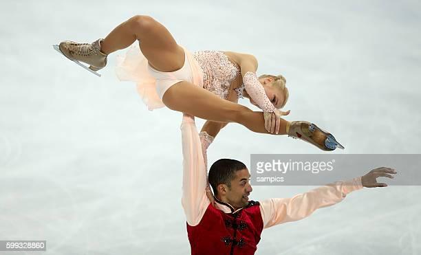 Aliona Savschenko / Robin Szolkowy Figure Skating Pairs Free Skating Iceberg Skating Palace Olympic Games Day 5 XXII Olympic Winter Games Sochi 2014
