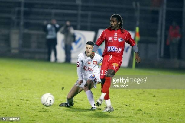 Aliou CISSE Nimes / Reims 14e journee Ligue 2