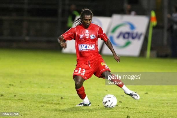 Aliou CISSE Nimes / Ajaccio 8eme Journee de Ligue 2