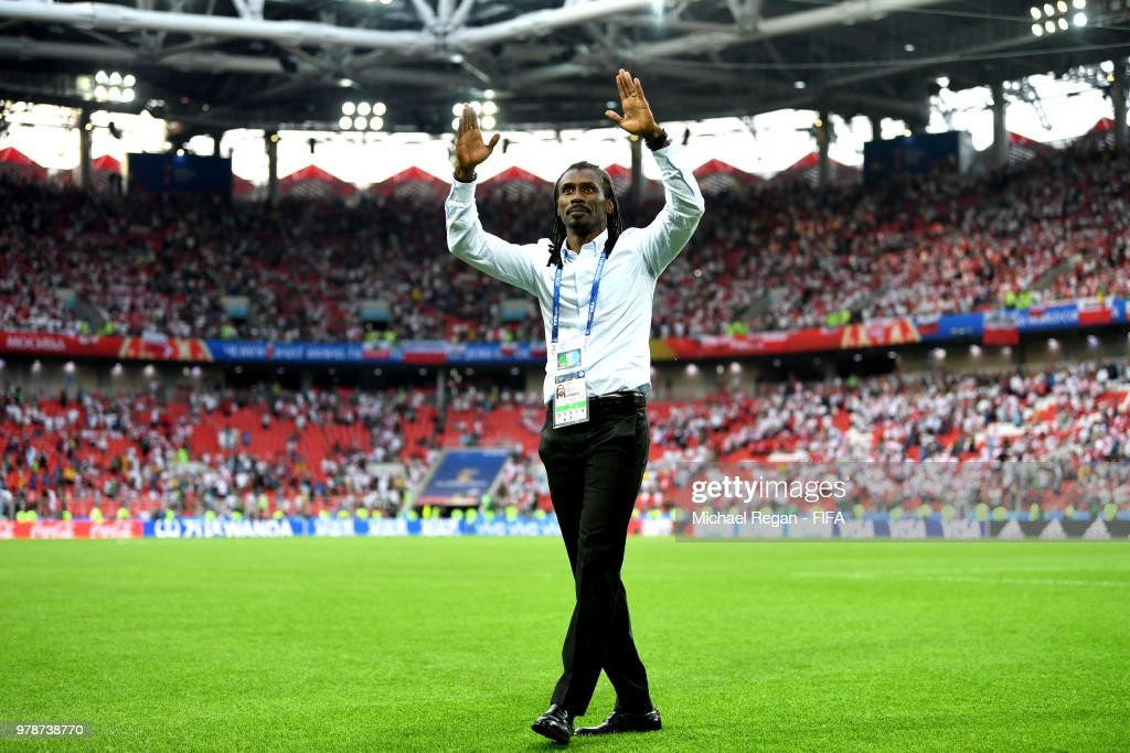 Poland v Senegal: Group H - 2018 FIFA World Cup Russia : Nieuwsfoto's