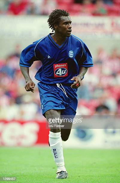 Aliou Cisse of Birmingham City in action during the pre season friendly between Stoke and Birmingham held at the Britannia StadiumStokeEngland on the...