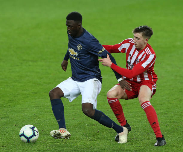 GBR: Sunderland v Manchester United: Premier League 2