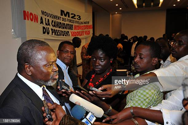 Alioune Tine on of the leaders of the June 23 Movement a coalition formed with opposition parties and Senegalese civil organisations in the wake of...
