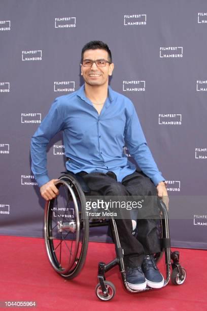 Alireza Ahmadi attends the 'Vierzehneinhalb Kollisionern' premiere during the Film Festival on September 30 2018 in Hamburg Germany